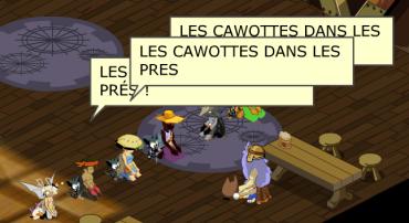 Les fidèles de la Cawotte Cosmique Cawottesdanspres