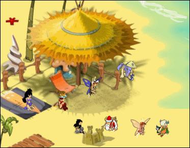 Les Cawottes à la plage Plage