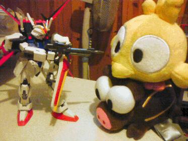 Les familiers menacés ? Gundam